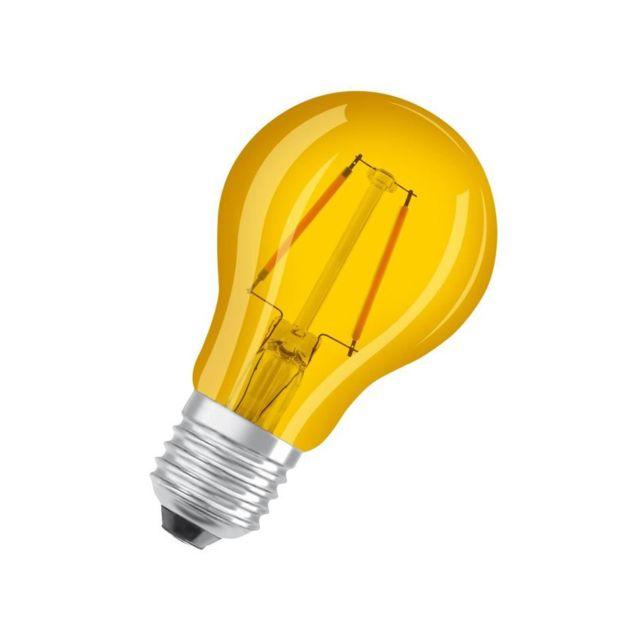 osram ampoule d co led standard e27 jaune pas cher. Black Bedroom Furniture Sets. Home Design Ideas