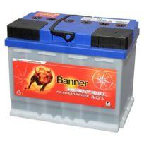 Banner - Batterie Camping car Décharge lente Energy Bull 95501 12v 60ah