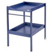 Combelle - Table à Langer 2 Plateaux Alice - Bleu laqué