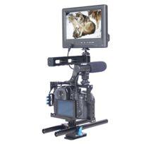 Wewoo - Pour Panasonic Lumix Dmc-gh4 / Sony A7 et A7S A7R & A7RII & A7SII Ypour Lg0904A Poignée Caméra Stabilisateur
