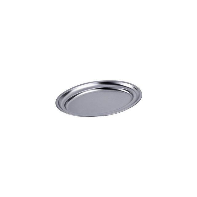 No Brand Plat Ovale - Inox 18% 35 X 23 cm