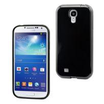 E-line - Protection Minigel Noire Galaxy S4