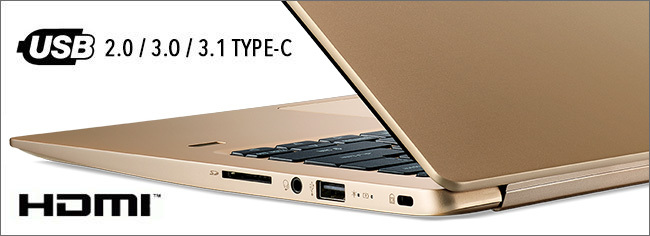 Acer Swift 1 - Connectique