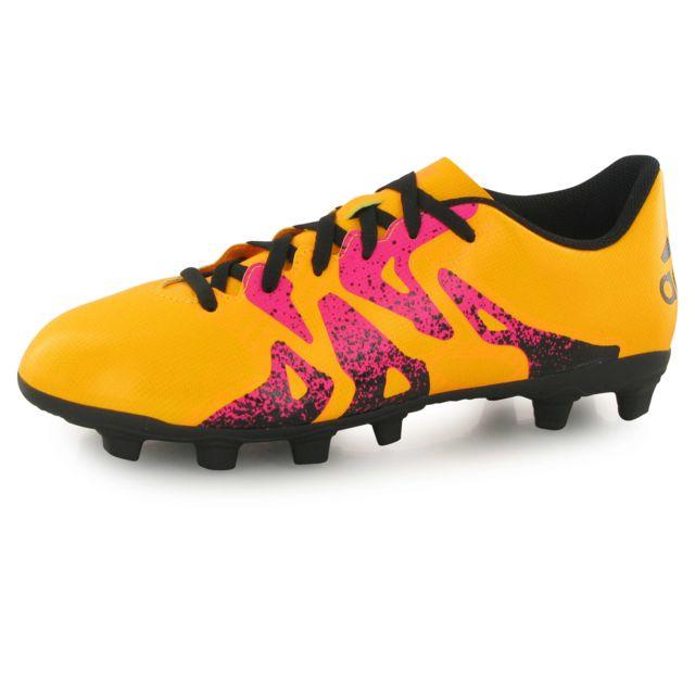 Adidas performance X 15.4 Fg orange, chaussures de