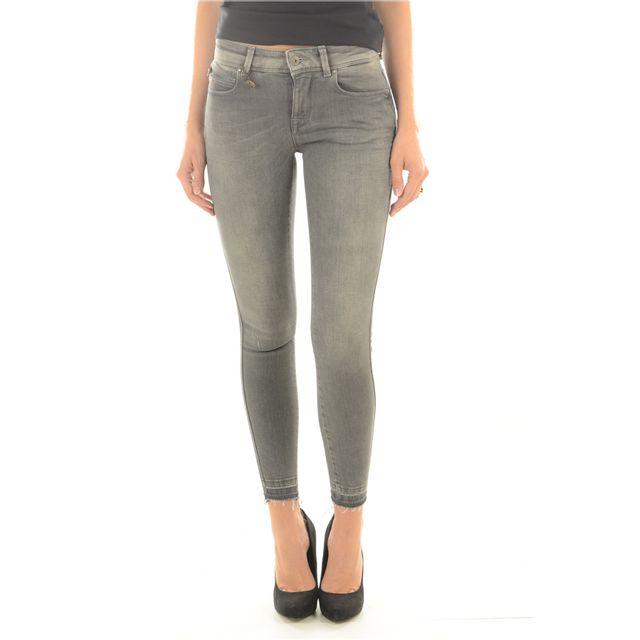 Only - Jean Skinny Stretch Carmen Les Gris - 31 30 - pas cher Achat   Vente  Jeans femme - RueDuCommerce efc81e419a84