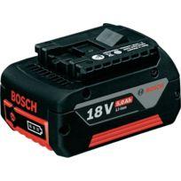 Bosch - Batterie coulissante 18V 5Ah Li-Ion GBA 18 V 5,0 Ah M-C 1600A002U5