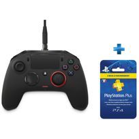 BIGBEN - MANETTE OFFICIELLE PRO - PS4 + Carte Playstation Plus - Abonnement 3 mois OFFERT