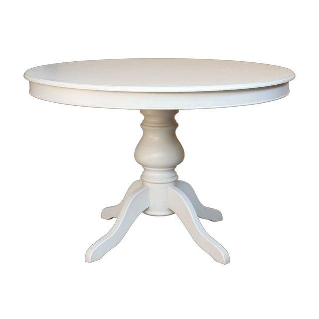 Artigiani Veneti Riuniti Table Ronde Laquee Louis Philippe 110 Cm