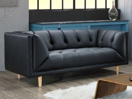 marque generique canap 2 places 100 cuir de buffle. Black Bedroom Furniture Sets. Home Design Ideas
