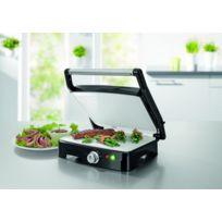 Gourmet Maxx - Grill turbo 2 en 1 avec revêtement céramique - Utilisable également à plat