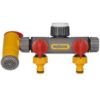 Hozelock - Raccord de robinet à 3 voies Flowmax 2250 0000