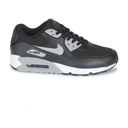 bc4bcd2438400d Nike - Chaussures Air Max Essential Black WolfGrey h16 - pas cher Achat    Vente Baskets homme - RueDuCommerce