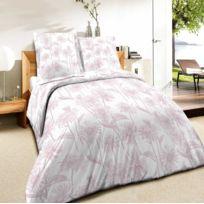 Best Interior - Parure de couette 100% coton Daisy - rose - housse-de-couette-200x200-cm