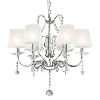 boutica design lustre senix 6x40w ideal lux 032597 pas cher achat vente suspensions. Black Bedroom Furniture Sets. Home Design Ideas