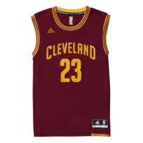 Adidas performance - Maillot Cavalier Cleveland Lebron James Bordeaux Maillot Club Nba Homme Basketball