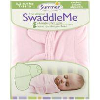 Kiddopotamus - Summer Infant Combinaison Unie- Petit Rose