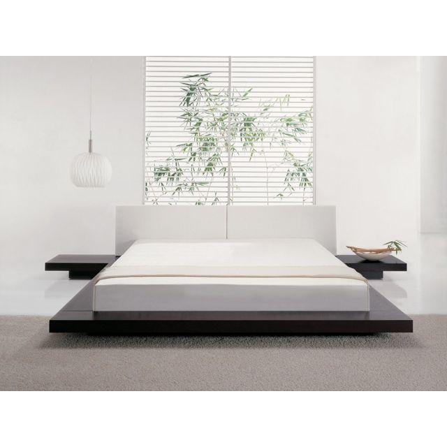 Tete de lit bois gallery of tete de lit bois exotique - Tete de lit bois naturel ...