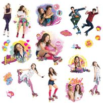 Room Mates - Stickers Disney Soy Luna Repositionnables 20 stickers