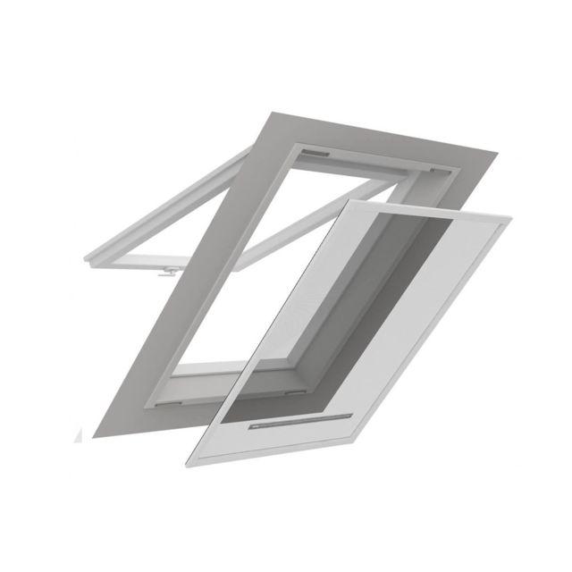 Empasa Moustiquaire Cadre Fixe Amovible Fenêtre De Toit Smart Alu