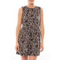Vero moda - Robe Noel Sl Mini Dress Mix Wall 10087646 Multicolor