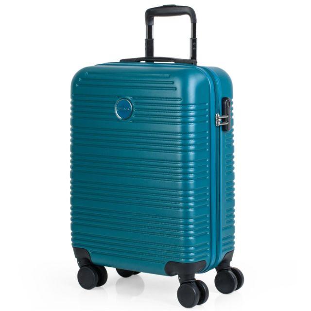 pas mal 79314 be1ff Valise 55x40x20 cm Cabine Abs. Les bagages à main. Rigide, résistant et  léger. Poignée, poignée et 4 roues. Vols Low Cost Ryanair, Cadenas intégré  ...