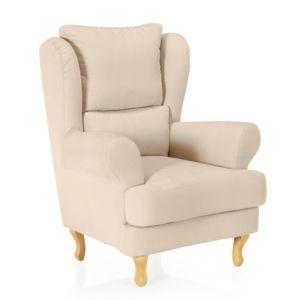 alin a west fauteuil berg re beige pas cher achat vente fauteuils rueducommerce. Black Bedroom Furniture Sets. Home Design Ideas