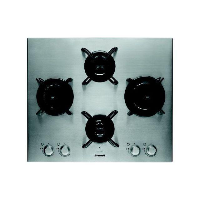 vente chaude en ligne 05614 56ca5 Brandt Table Gaz Bpe6414X - Achat Plaque de cuisson Gaz