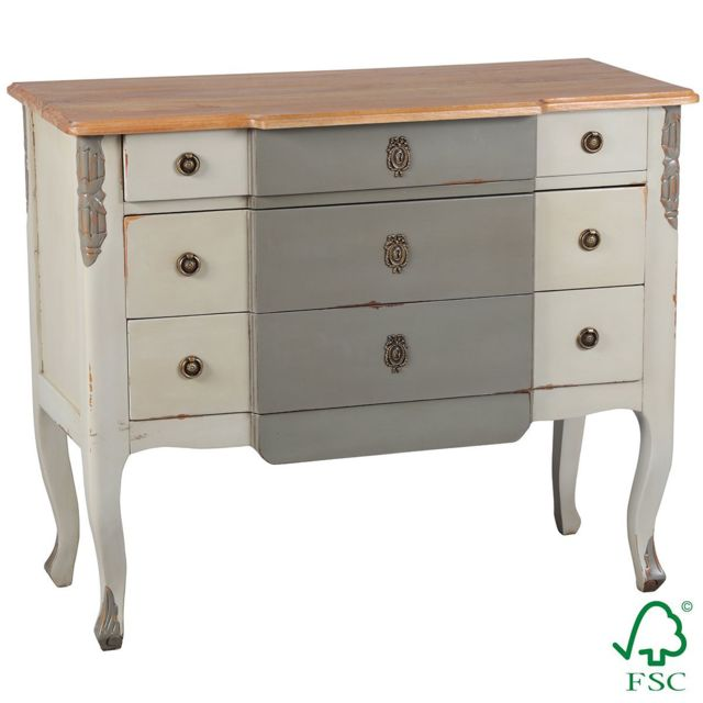 Altobuy Laucina - Commode 3 Tiroirs