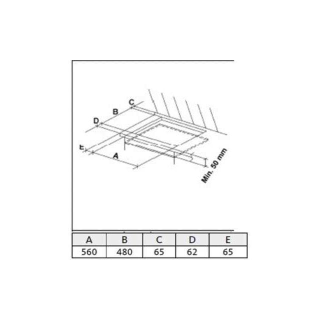 LISTO - Table gaz TG L4i