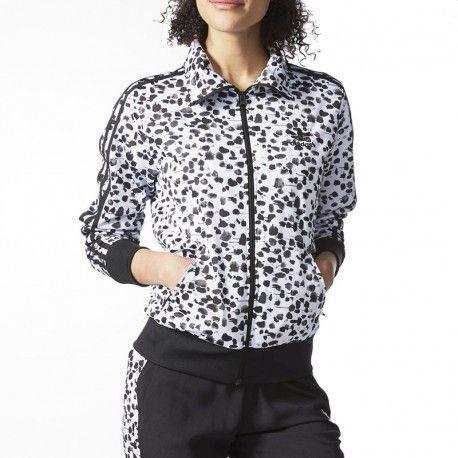 Adidas originals - Veste Firebird Femme blanc Adidas - pas cher ... 55d51300ba8