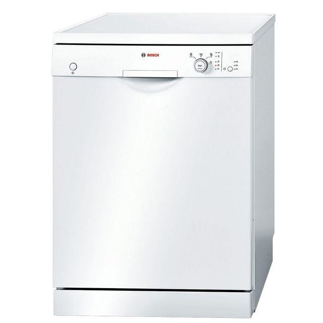 Bosch 640b.eu lave-vaisselle 60 cm, pose-libre - blanc - sms40d62eu