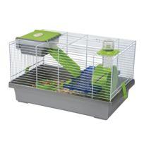 Les Animaux De La Fee - Cage Mica Grise Pour Hamster Et Souris