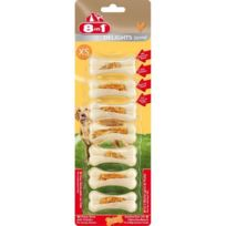 8in1 - Friandise chien Delights Strong Xs x 7