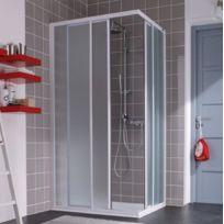 Leda - Porte coulissante accès d'angle carré Atout 2 80 x 80 cm - L13ATA0831