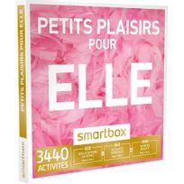 Smartbox - Petits plaisirs pour elle - 3440 activités : séance bien-être, dégustation ou aventure pour les femmes - Coffret Cadeau
