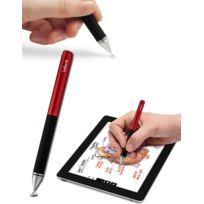 Adonit - Stylet Jot Pro Rouge ultra précis iPhone iPad Galaxy Tab ecran capacitif