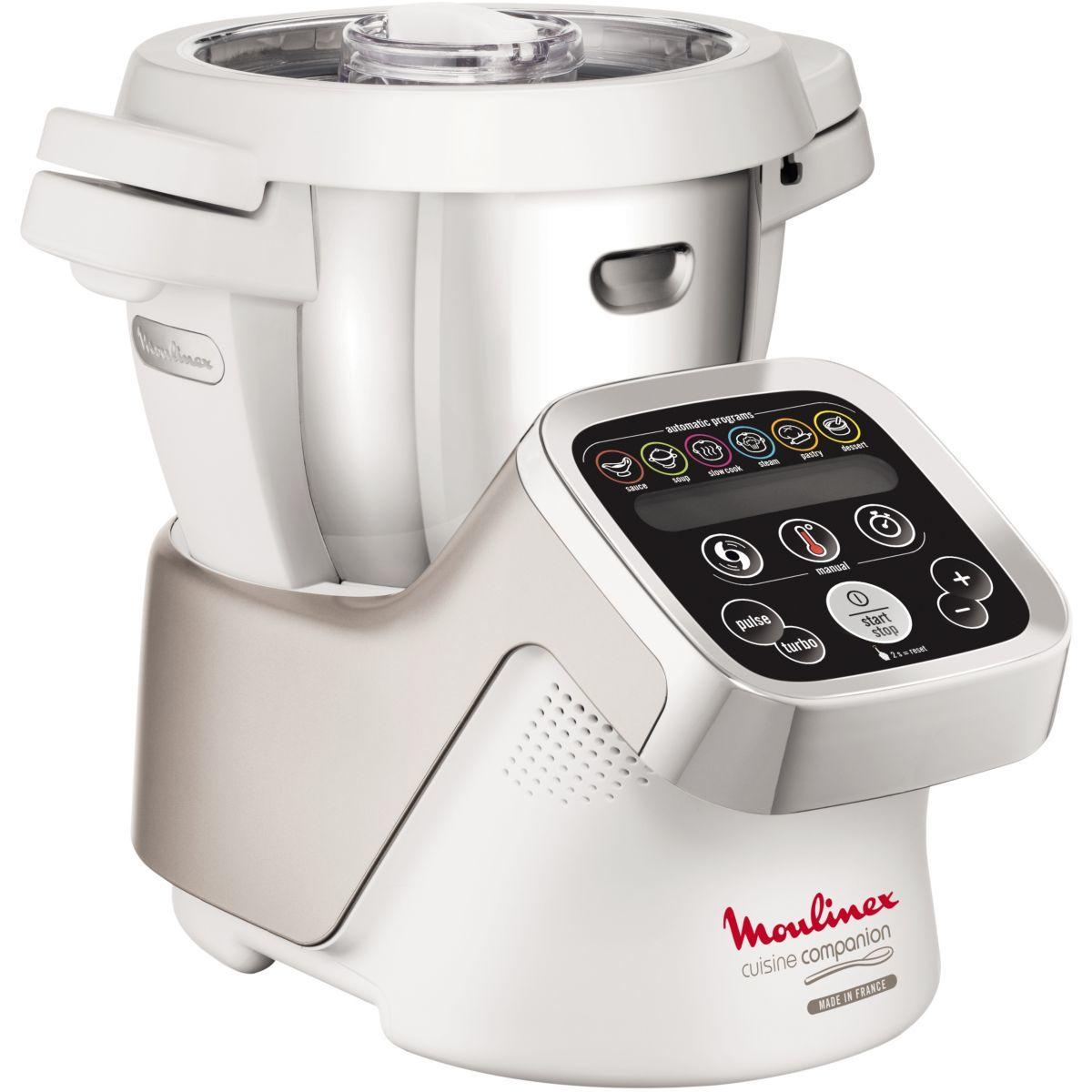 moulinex  robot cuiseur companion hf800a10  pas cher