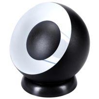 Rendez Vous Deco - Lampe Louise noire D.20 cm