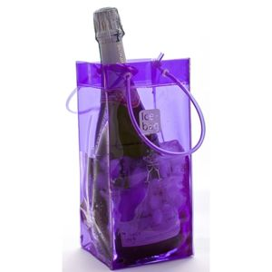 Ice bag sac rafraichisseur violet 17405 pas cher achat vente seau glace champagne - Ice bag pas cher ...
