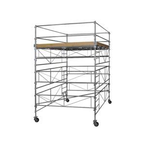 duarib echafaudages roulants acier galaxy 45 hauteur plancher 11m10 30109 pas cher achat. Black Bedroom Furniture Sets. Home Design Ideas