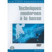 Play Music - Techniques Modernes À La Basse - Patrice Guers - Dvd - Edition simple