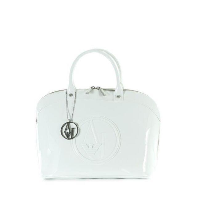 0ad1c6c320 Armani - Jeans Sac a Main 05230RJ Blanc 41 cm Femme - pas cher Achat / Vente  Sacs à main - RueDuCommerce