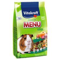 Vitakraft - Sachets Fraîcheur Premium Menu Vital pour Cochons d'Inde - 800g