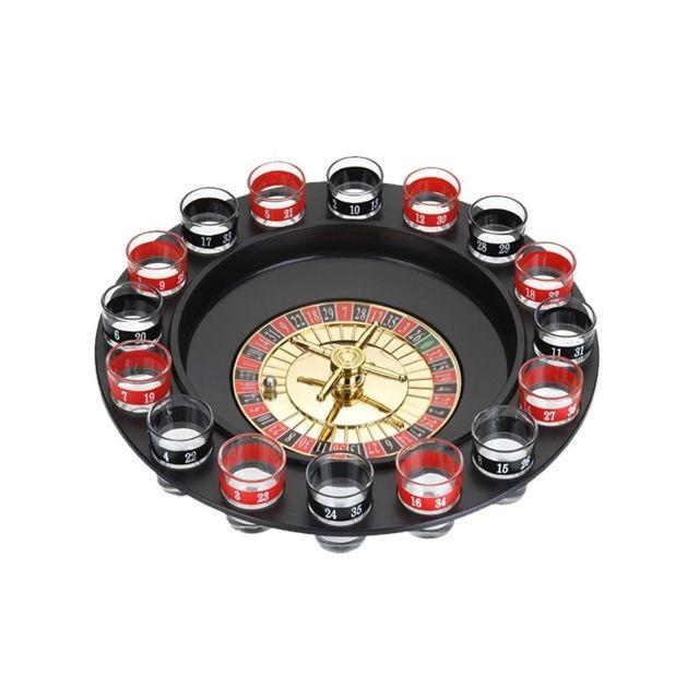 Jeu d'alcool roulette - 29 cm - Plastique