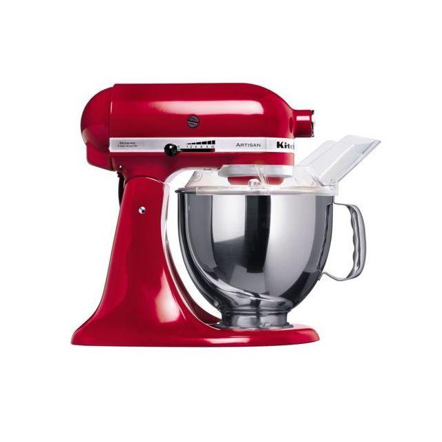 KITCHENAID Robot pâtissier artisan 300 w, 4,8 L, rouge