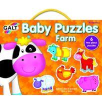 Asa Toys - Galt - Ga1003028 - Baby Puzzles - Animaux De La Ferme