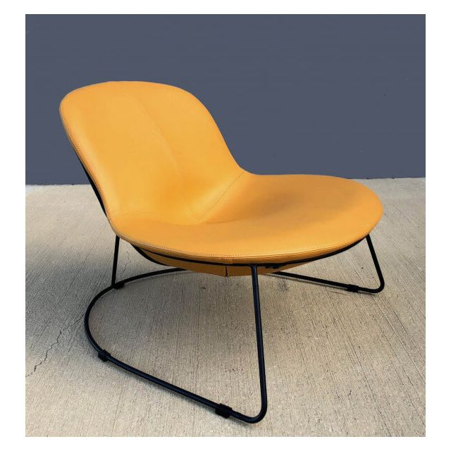 Mathi Design Fauteuil Design Duck jaune