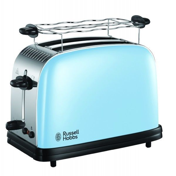 Russell Hobbs Grille pain 2 fentes - 1670W Colours Plus+ Bleu 23335-56