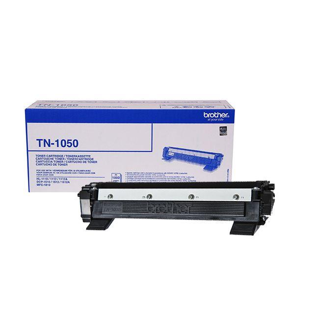 BROTHER Toner TN-1050 - Noir TN1050, Toner d'origine Noir pour imprimantes HL-1110, HL-1112, DCP-1510, DCP-1512, MFC-1810, HL-1210W, HL-1212W, DCP-1610W, DCP-1612W, MFC-1910W