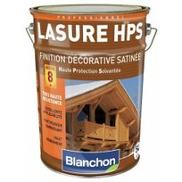 Blanchon - Lasure haute protection solvantées - chêne rustique - 1 litre - Hps